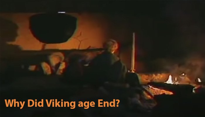 Why did the Viking age end?